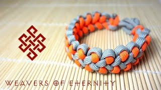 How to Make the Dragon's Claw Paracord Bracelet with No Buckles