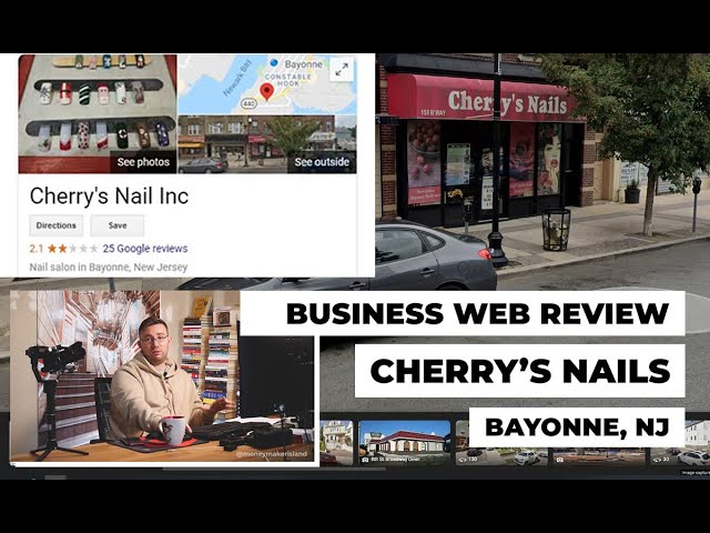 Bayonne Business Web Review: Cherry's Nails