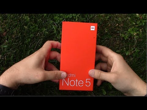 Первая настройка Redmi Note 5+ распаковка + тест