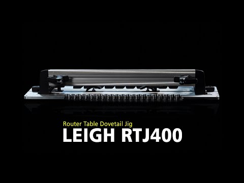 Leigh Rtj400 Router Table Dovetail Jig Overview