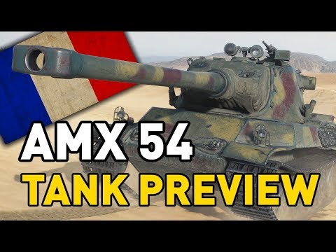 World of Tanks || AMX M4 mle. 54 - Tank Preview