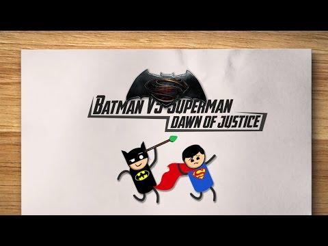 شرح قصة Batman v Superman: Dawn of Justice