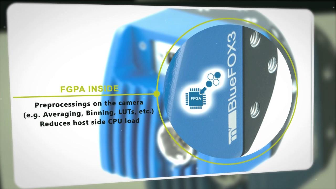 USB3 Vision camera mvBlueFOX-2