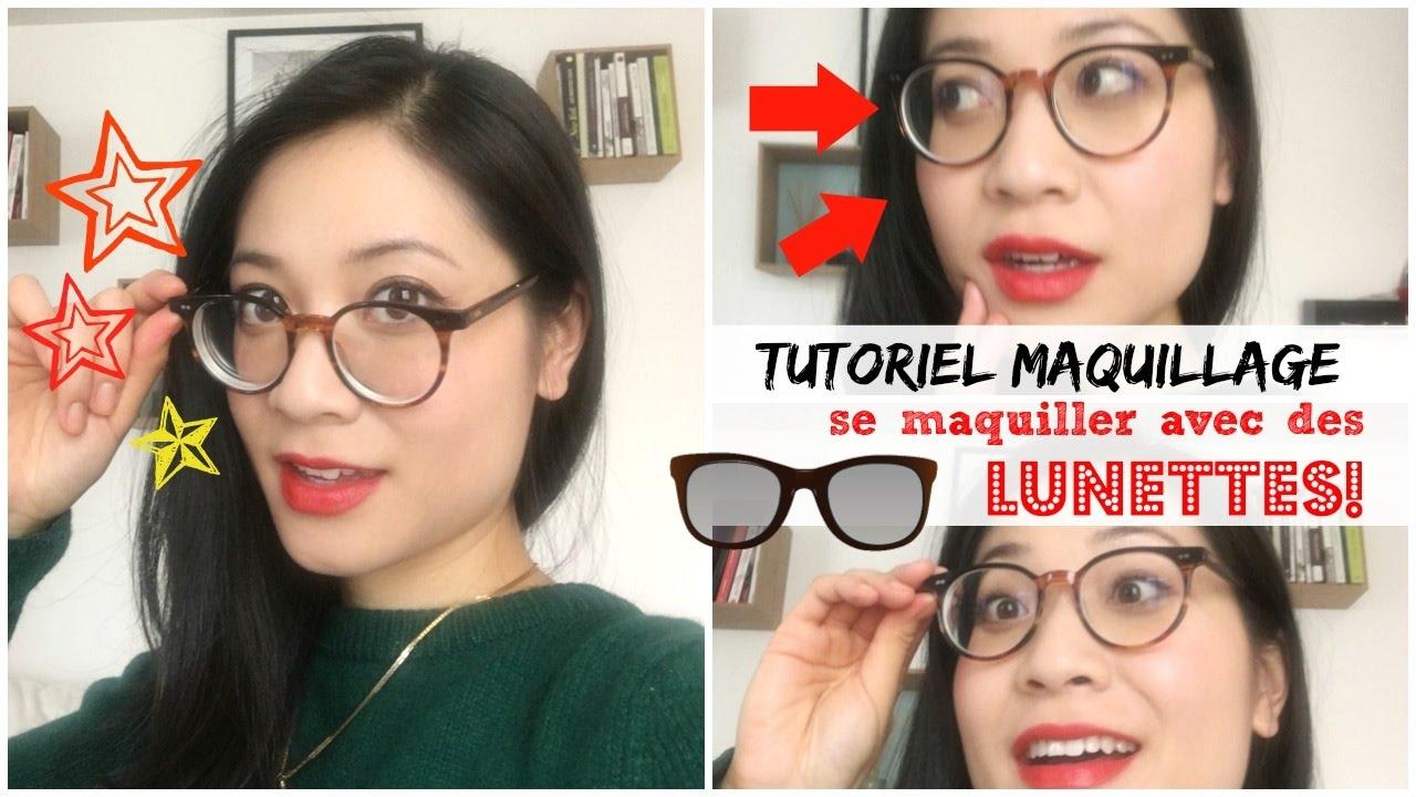 tutoriel maquillage lunettes se maquiller avec des lunettes myope et asiatique youtube. Black Bedroom Furniture Sets. Home Design Ideas