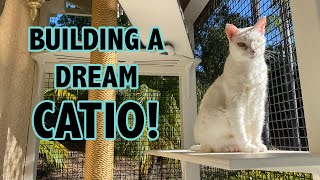 Building a Catio for my Cats (From Start to Finish!)