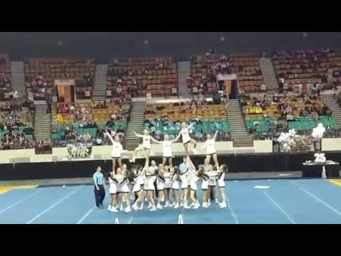Palmer Ridge High School 4A Cheer State Champions 2015
