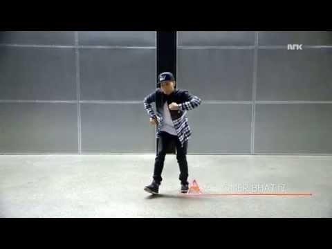 Omer Bhatti  (aka O-bee) dancing