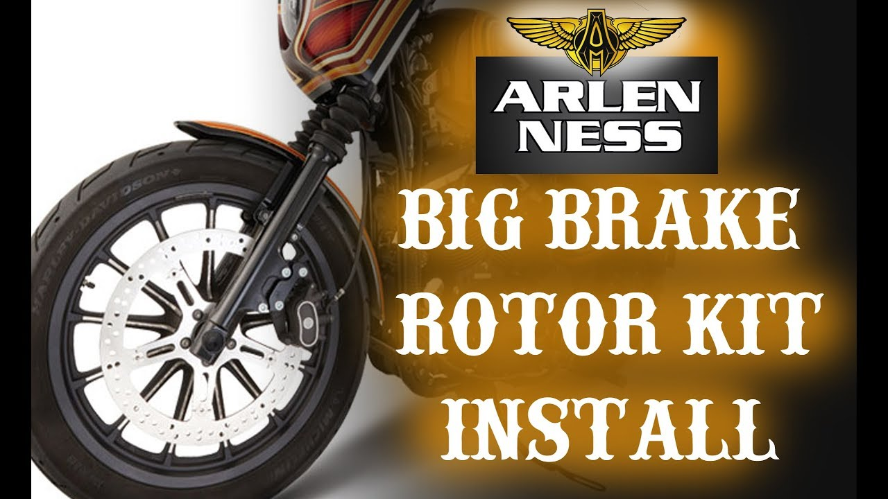How to Install the Arlen Ness Big Brake Rotor Kit
