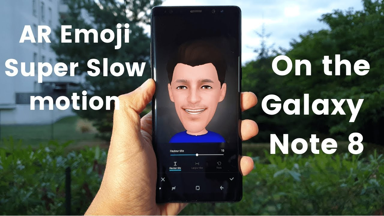 Super Slow-Mo and AR Emoji are NOW on the Galaxy Note 8 !