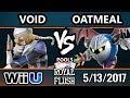 Royal Flush SSB4 - CLG | VoiD (Sheik, Fox) Vs. Oatmeal (Meta Knight) Smash 4 Pools - Smash Wii U