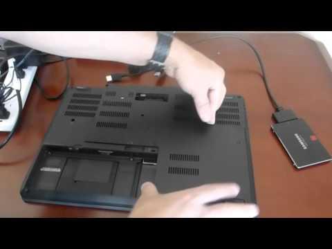 Lenovo ThinkPad P50 Hard Drive Swap