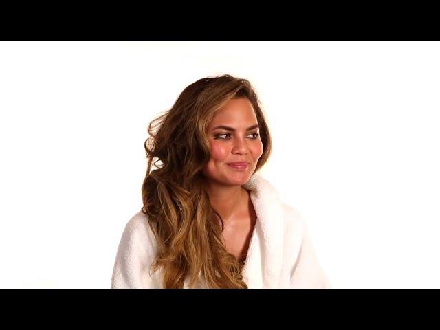 Chrissy Teigen Talks About Posing Topless