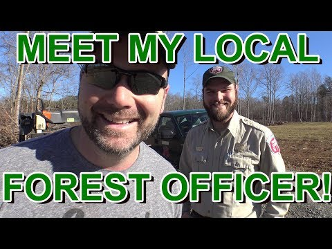 MEET SAM...MY LOCAL FORESTRY OFFICER ..MANAGING OUR FOREST AND FARM THE RIGHT WAY!!!