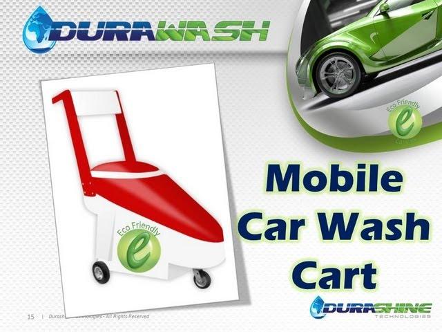 DURAWASH - Rechargable Waterless Car Wash Cart from DURASHINE TECHNOLOGIES