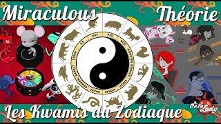 MIRACULOUS | THEORIE : Les Kwamis du Zodiaque Part 1