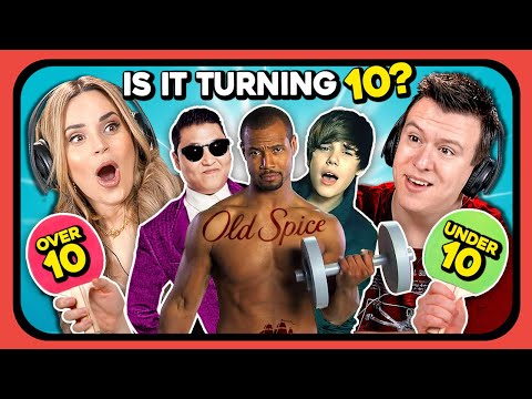 YouTubers Guess If These 10 Things Turning 10 In 2020