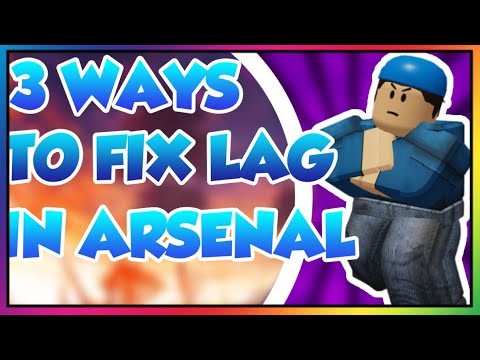 3 Ways to fix Lag in Roblox Arsenal Roblox Lag fix tutorial