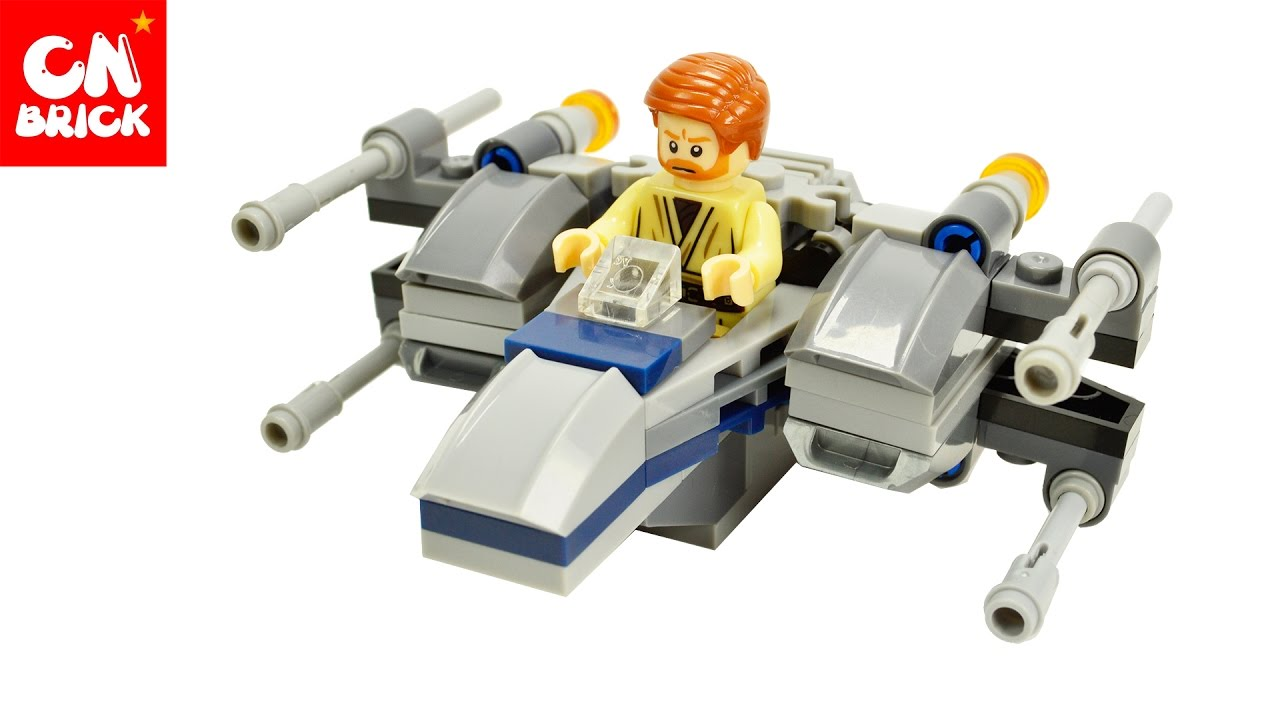 Lego Diy Star Wars Microfighters Series Resistance X Wing Fighter 75102 Poeamp039s Toys Unofficiallego