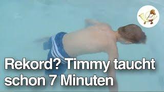 Rekord? Timmy (9) taucht schon 7 Minuten [Postillon24]