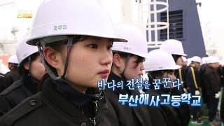 [연합뉴스TV 스페셜] 30회 : 바다의 전설을 꿈꾼다…부산해사고등학교 / 연합뉴스TV (YonhapnewsTV)