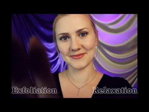 ASMR •○(^.^)○• Exfoliation Relaxation