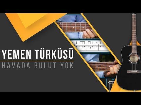 Yemen Türküsü [Gitar Solo/Ritim]+[TAB]+[AKOR]+[Karaoke]