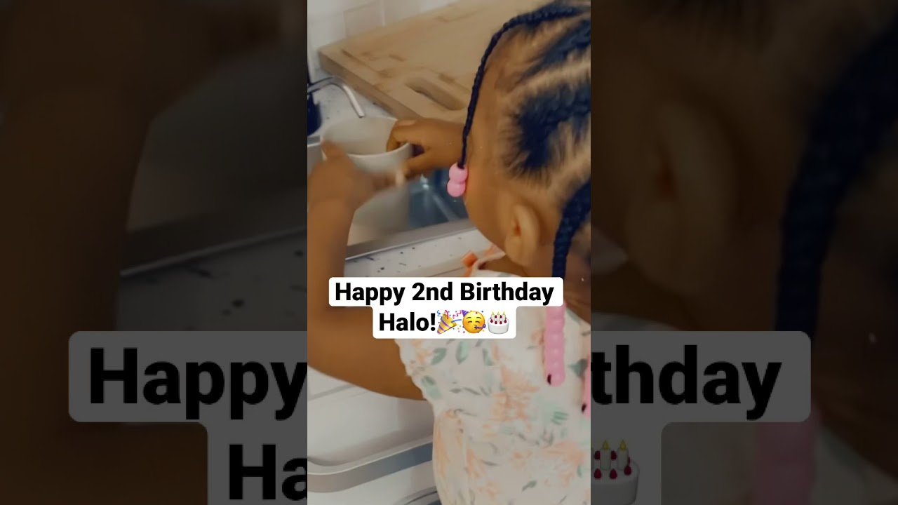 Happy Birthday Halo! She's so big now y'all! 😩