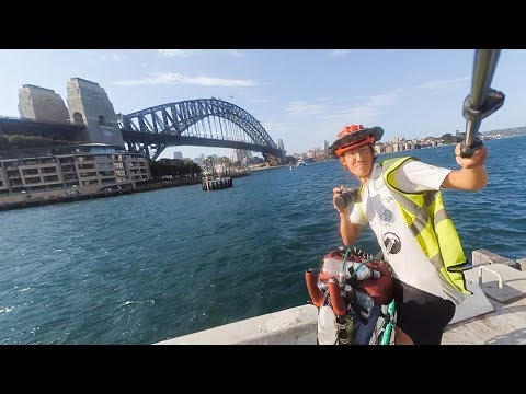 Man Unicycles 3000 Miles Across Australia in 89 Days!