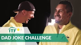 Dad Joke Challenge with Nick Kyrgios & Thanasi Kokkinakis | International Tennis Federation