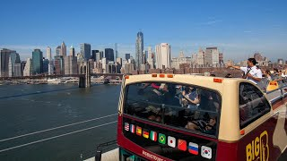 Big Bus Hop-on Hop-off Tour in New York City, New York
