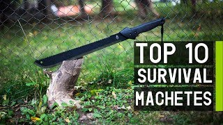 Top 10 Best Machetes for Survival & Outdoors