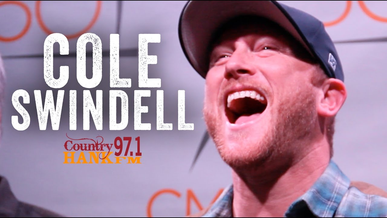 9d297e03ba4db Cole Swindell - Really Wants to Meet George Strait - YouTube