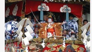 今日は祇園祭りの鉾立て日