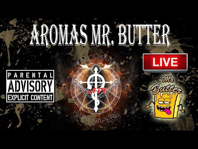 APV 218. Revisión de aromas Mr. Butter