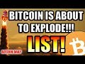 List Of Reasons Bitcoin Is About To EXPLODE!!! 💥💥💥 [Cryptocurrency Motivation]