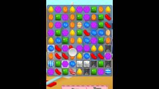 Candy Crush Saga Level 447 iPhone No Boosts