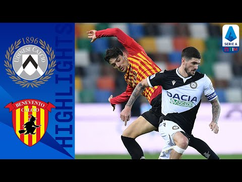Udinese Benevento Goals And Highlights