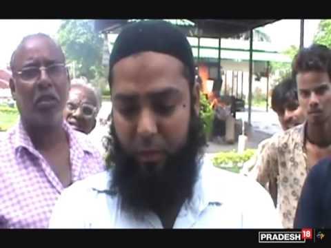 Muslim man performs Hindu wife's last rites