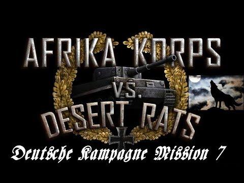 Afrika Korps vs Desert Rats Deutsche Kampagne Mission 7
