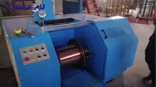Double wires intermediate wire drawing machine two wires medium wire drawing machine