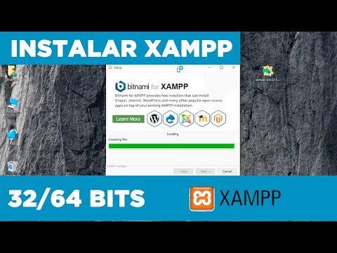 Instalar Xampp 32/64 Bits En Windows 10 - 2017 Apache /PHP/Mysql