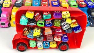 Машинки Тачки Новые Игрушки Автобус Домино Минитачки Видео для Детей