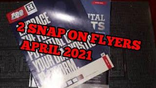 Snap On flyer April 2021