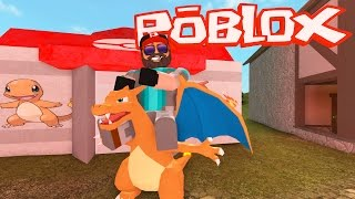 CHARIZARD!! | Pokémon Brick Bronze [#11] | ROBLOX