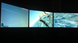 Old Republic Space Combat on Multiple Displays!