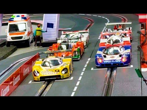 Carrera digital, Slot cars Gruppe C Rennen, 6 Autos!