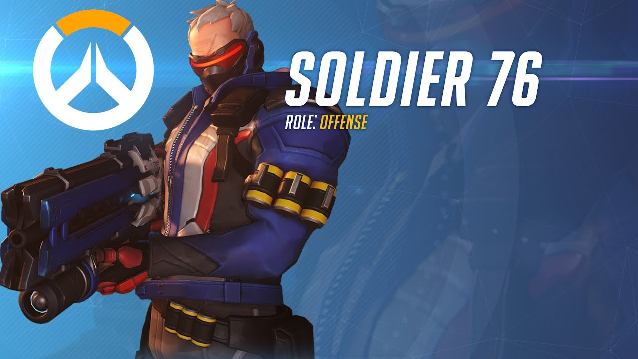Image result for overwatch soldier 76