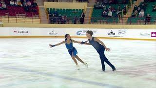 Диана Дэвис - Глеб Смолкин. Произвольный танец. Танцы. Первенство России по фигурному катанию