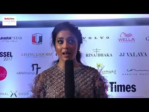| Shriya Saran | Bombay Times Fashion Week 2017 | Talent Factory |
