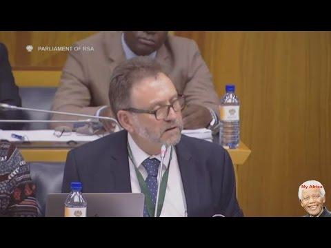 DA James Selfe Grills Hlaudi Motsoeneng And SABC Board
